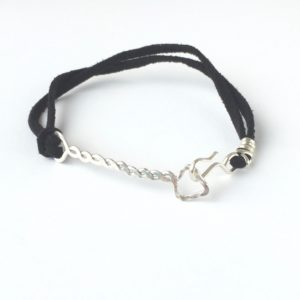 Silver Arrow Mens Bracelet