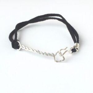 Silver Arrow Mens Bracelet