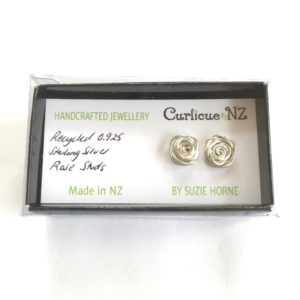 Rose Studs in their gift box