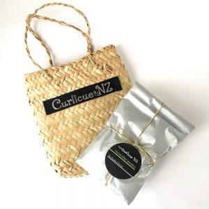 small flax kete woven bag premium gift wrap