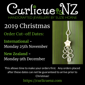 Christmas Cut off dates for 2019