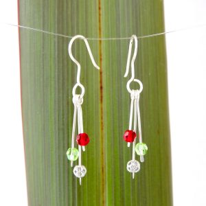 Swarovski Christmas Drop Earrings product image