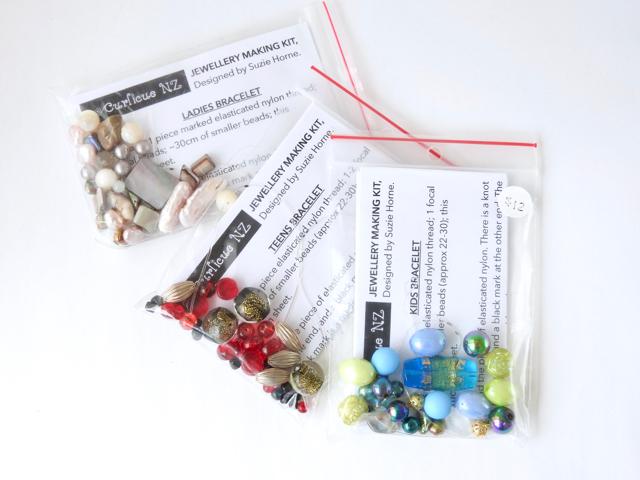 DIY Bracelet packs for girls, teens and ladies