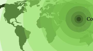 World in Crisis: Coronavirus pandemic header
