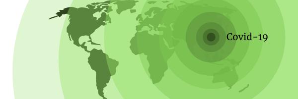 World in Crisis: Coronavirus Covid-19 pandemic header