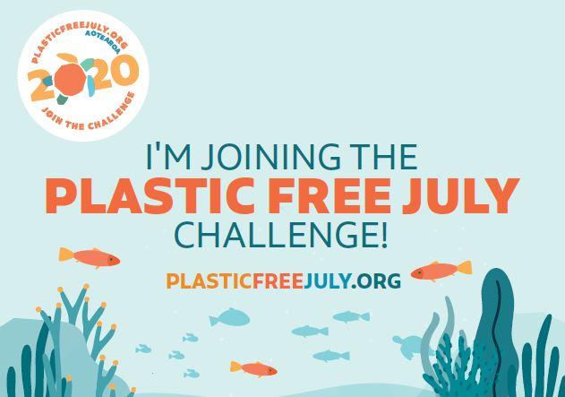plastic free july challenge