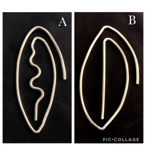Early designs for large leaf earrings_2
