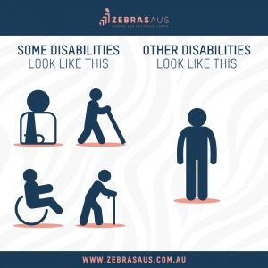 Some disabilities you can see... others you can't