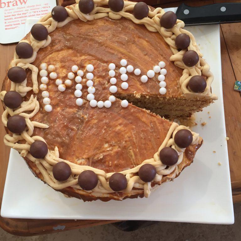 Cake 1 made for my lockdown birthday