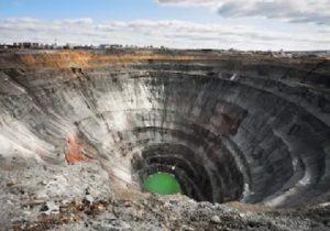 Abandoned Diamond Mine